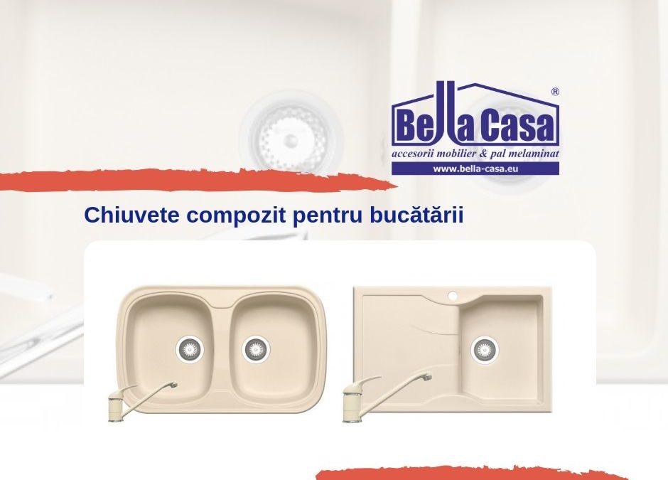 Chiuvete compozit la Bella Casa | Focșani | Brăila | Galați