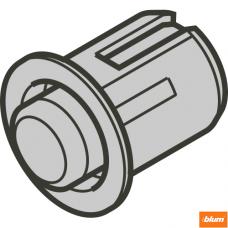 Distanţier Blum cu arc, Ø 8 mm, Fantă front 2.6 mm, găurire