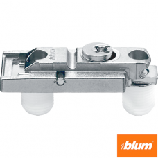 CLIP Plăcuţă de montaj, dreaptă (20/32 mm), 0 mm, Zinc, presare, reglaj pe înălţime: Excentric