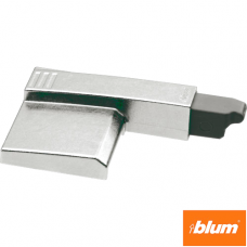 BLUMOTION prin ataşare, Balama cu unghi de deschidere mare 170°, uşă aplicată şi semiaplicată